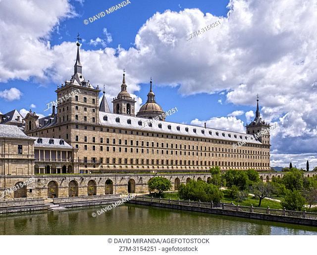 Monasterio de San Lorenzo de El Escorial. Madrid. España