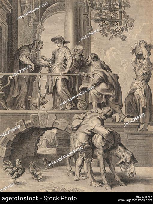 The Visitation, 1625-74. Creator: Pieter de Jode II