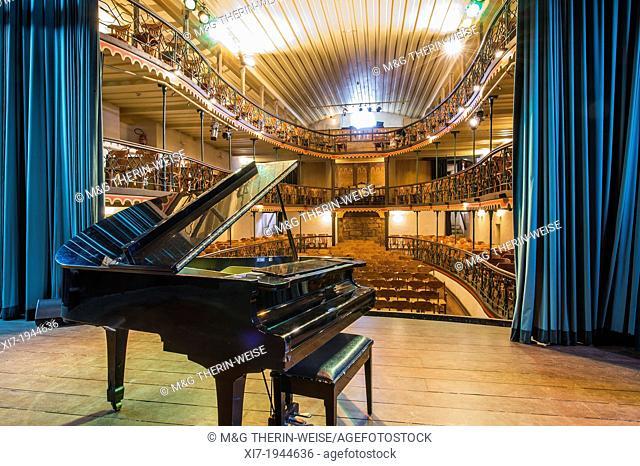 Teatro municipal, Oldest functionning theater in Latin America, Ouro Preto, Minas Gerais, Brazil