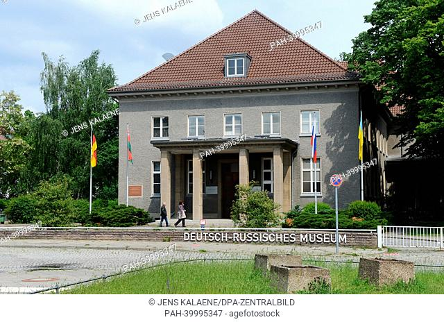 The German-Russian Museum is pictured in Waldowallee in Berlin Karlshorst, Germany, 31 May 2013. The Second World War ended in Europe with the capitulation of...