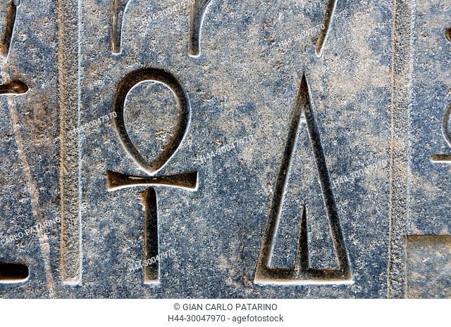 Usermaatra Setepenra Ramses II (1303-1212 b.C.): two hieroglyphs
