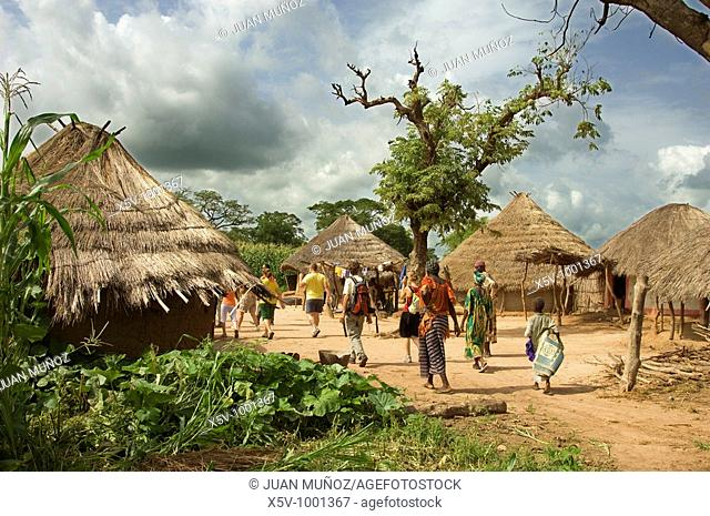 Village of the interior, Gambia