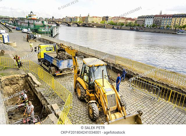 Prague wants to gradually repair all riverbanks, which are transformed into a meeting place in the season and are visited by thousands of people
