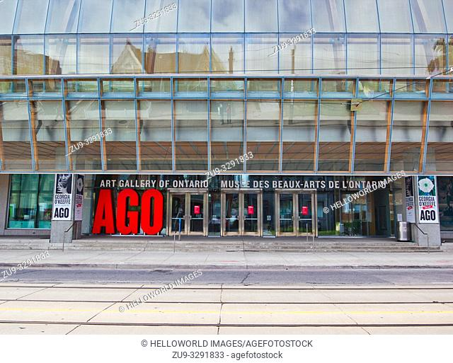 Art Gallery of Ontario (AGO), Toronto, Ontario, Canada. Founded in 1900 it was renovated and reopened in 2008. The redevelopment architect was Toronto born...