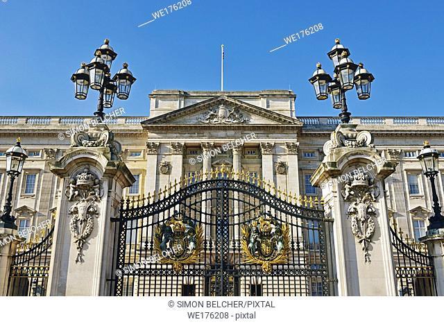 Buckingham Palace, London, England, United Kingdom
