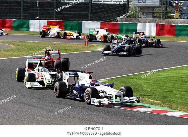 Race, Robert Kubica, BMW Sauber F1 Team, F1.08, Grand Prix, 04/10/2009, Suzaka, Japan