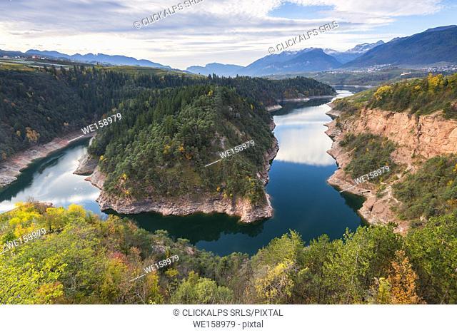 Island of Santa Giustina lake