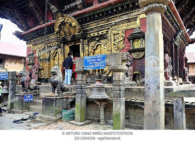 Changunarayan Hindu temple, Kathmandu Valley, Nepal