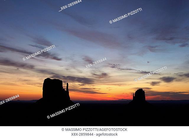 Sunrise at Monument Valley, Arizona, United States