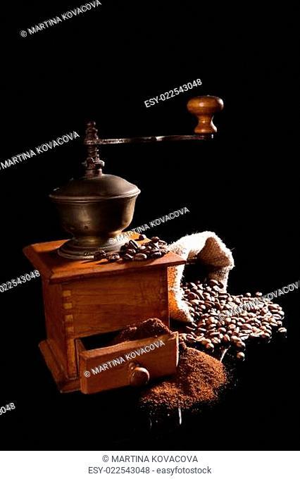 Luxurious vintage coffee background
