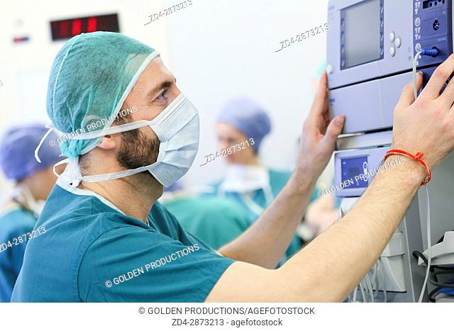 Surgery, Operating room, Hospital, Spain