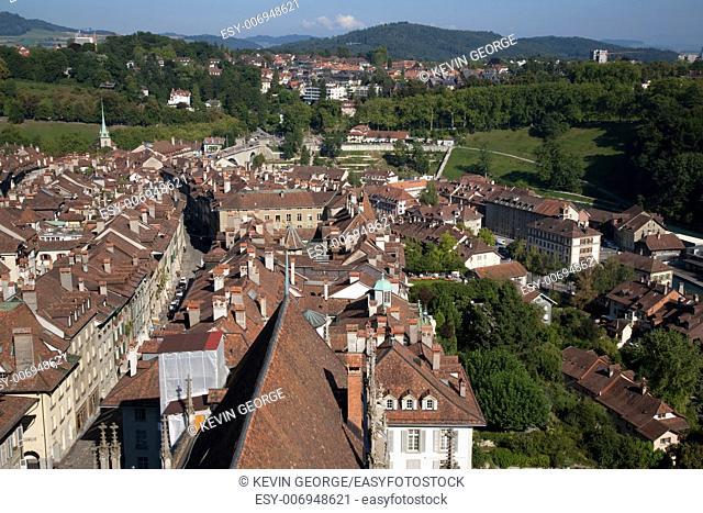 View of Bern; Switzerland; Europe