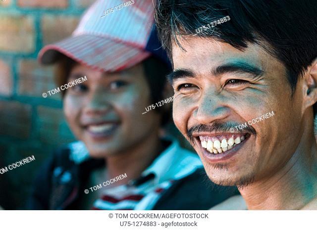 Workman, Sihanoukville, Cambodia