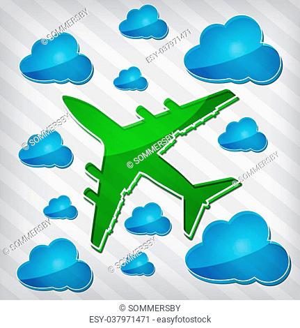 Arrivals Blue Icon Only Creative Stock Images Photos Vectors