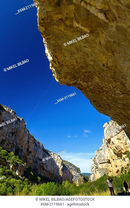 Foz de Lumbier Natural Reserve. Navarre, Spain, Europe