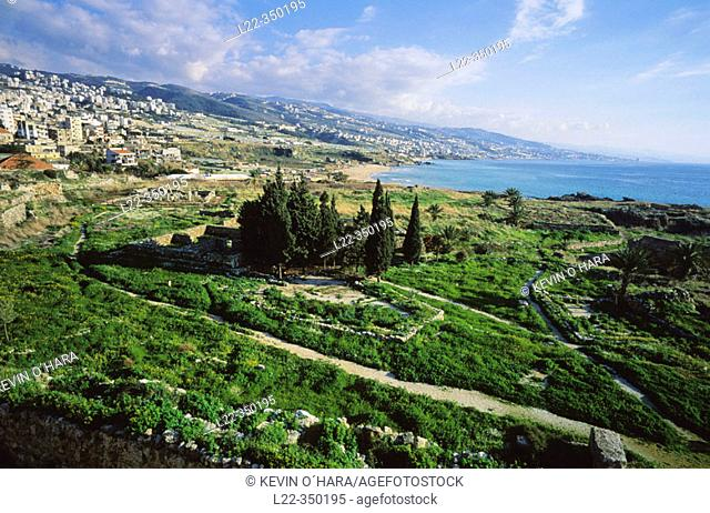 Byblos, archaeological site. Lebanon