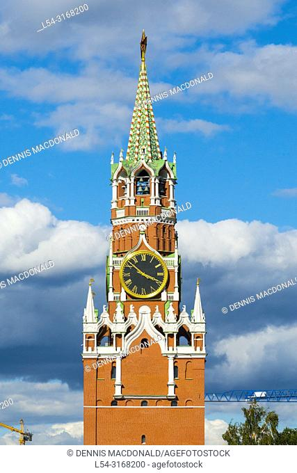 Trinity Tower The Kremlin Moscow Russian Moskva city National capital of Russia. The Moscow Kremlin (Russian: МоÑ. ковÑ. кий КÑ