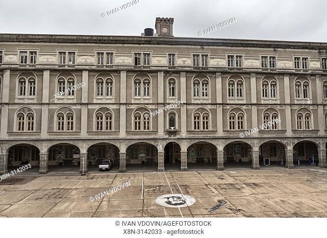 Vintage building, Montevideo, Uruguay