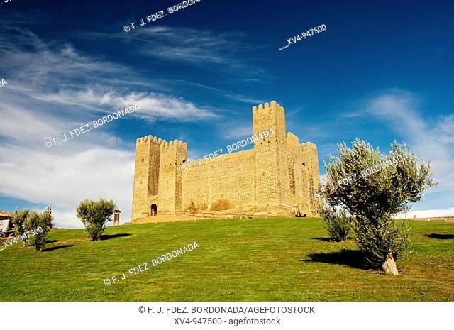 Sadaba Castle  Gothic architecture S  XIII  Cinco Villas, Aragón, Spain