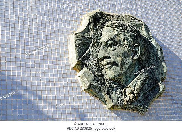 Monument, mayor Alfonso Torres, Cartagena, Murcia, Costa Calida, Spain