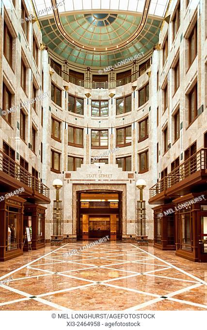 Interior of 75 State Street, Boston, Massachusetts, USA