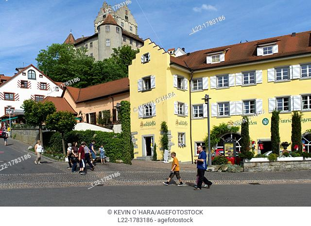 Meersburg is a town famous for its charming medieval streets  The lower town - Unterstadt - and upper town - Oberstadt - are reserved for pedestrians only and...