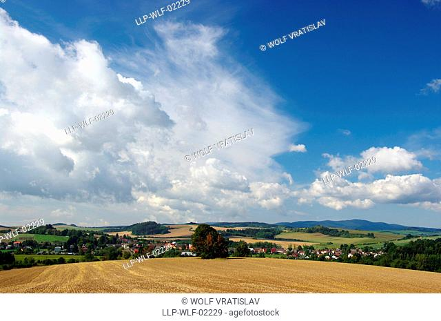 View of Kout na Sumave, the Southwestern Bohemia, Plzen region, Czech Republic