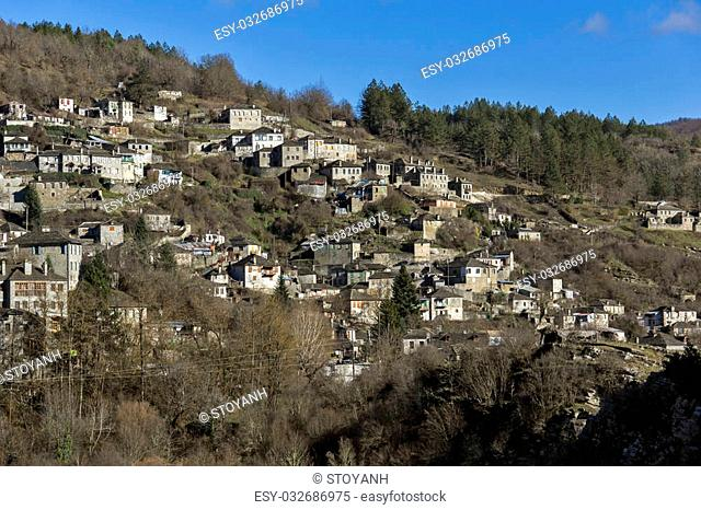 Kipoi village, Pindus Mountains, Zagori, Epirus, Greece