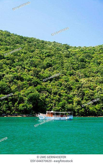 The Lim bay and valley is a peculiar geographic feature on the western coast of Istria, Croatia