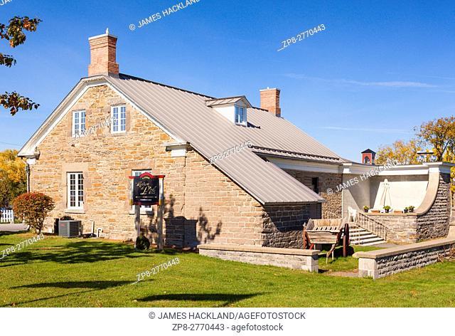 The Centre Culturel Le Chenail (Maison de L'Ile) in Hawkesbury, Ontario, Canada