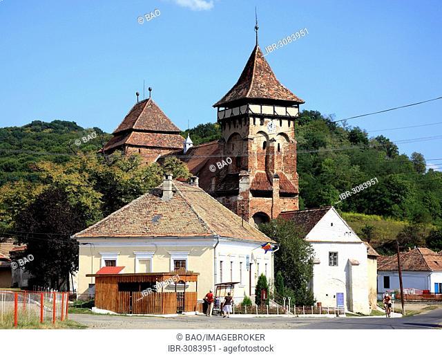 Fortified Church of Valea Viilor, Valea Viilor, Sibiu County, Transylvania, Romania