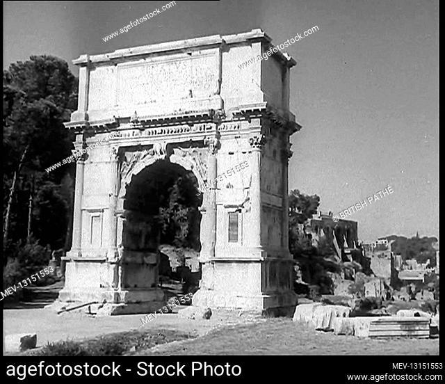 A Landmark in Rome, Italy - Italy