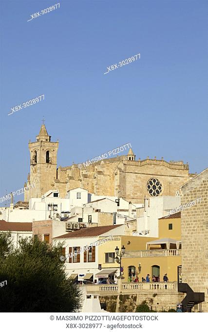 The Cathedral of Ciutadella de Menorca, Balearic Islands, Spain
