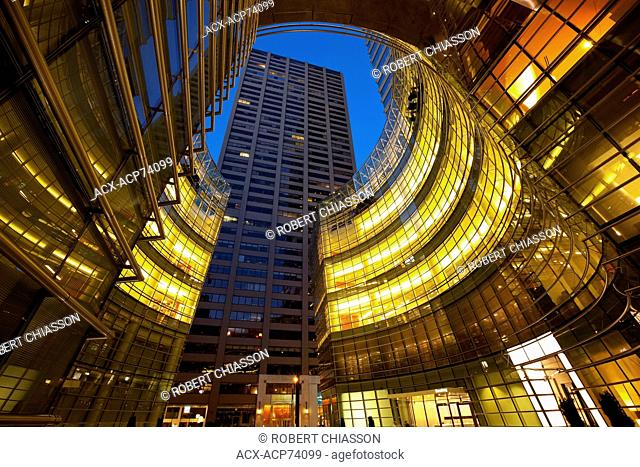 Located at 731 Lexington Avenue, the 55-story building houses the headquarters of Bloomberg L.P. as well as retail outlets