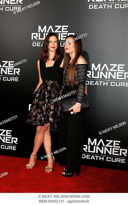 """""""Maze Runner: The Death Cure"""" Fan Screening at AMC 15 on January 18, 2018 in Century City, CA Featuring: Kaya Scodelario Where: Century City, California"