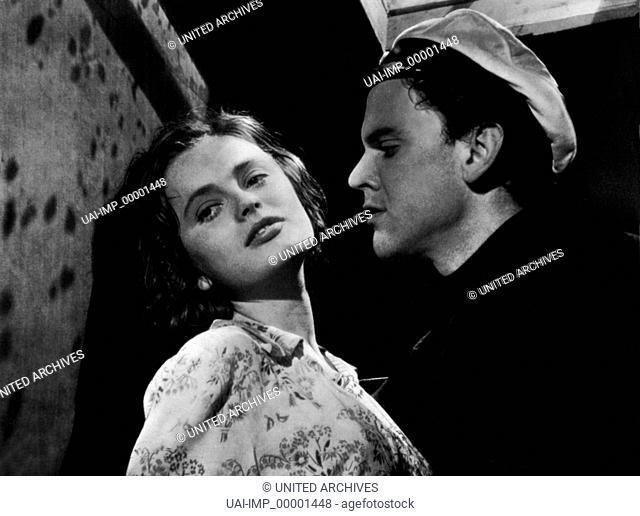 Sie tanzte nur einen Sommer, (HON DANSADE EN SOMMAR) SWE 1951 s/w, Regie: Arne Mattsson, ULLA JACOBSSON, FOLKE SUNDQUIST