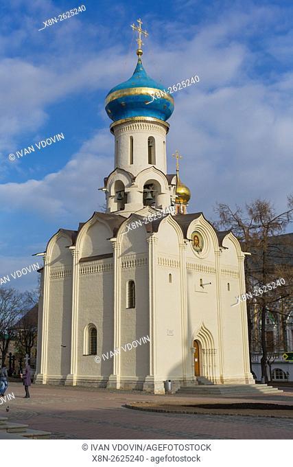 Holy Spirit Church (1476), Trinity Lavra of St. Sergius, Sergiyev Posad, Moscow region, Russia