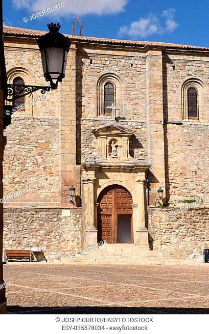 San Juan Bautista church, Atienza, Guadalajara province,Castilla-La Mancha,Spain