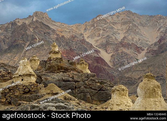 Zangla, with the Karsha Khar fortress