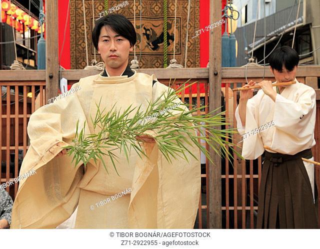 Japan, Kyoto, Gion Matsuri, festival, ceremony, people,