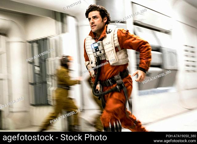 Star Wars: The Last Jedi Year : 2017 USA Director : Rian Johnson Oscar Isaac  Restricted to editorial use. See caption for more information about restrictions
