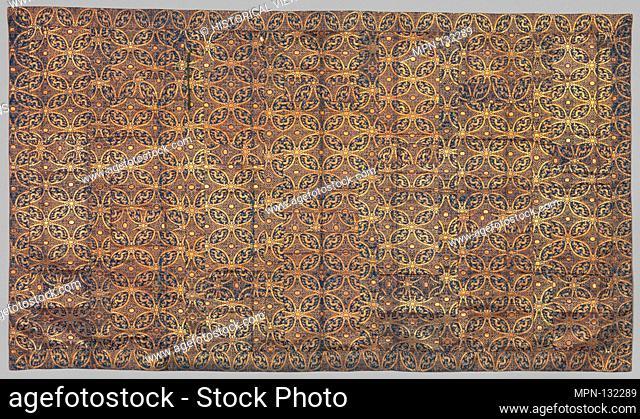 Buddhist Vestment (Kesa). Period: Edo period (1615-1868); Date: 18th century; Culture: Japan; Medium: Silk, metallic thread; Dimensions: 38 1/4 x 66 1/2 in