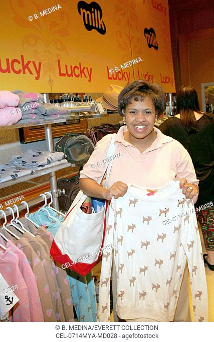 Chandra WIlson inside for LUCKY Club Gift Lounge for the 2007-2008 TV Network Upfronts Previews, The Ritz Carlton Hotel, New York, NY, May 14, 2007