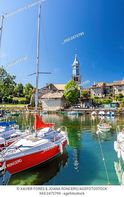 Yvoire village in Haute-Savoie, Rhône-Alpes, France