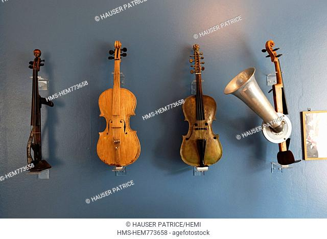 Norway, County of Sor Trondelag, Trondheim, the Ringve museum of the music
