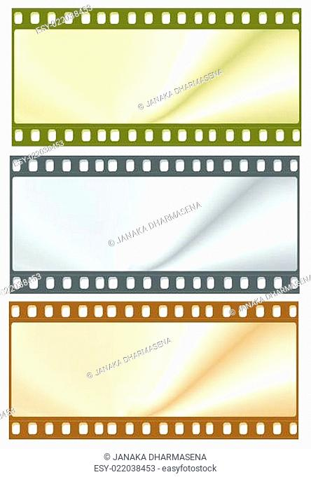 Old 35 mm movie Film
