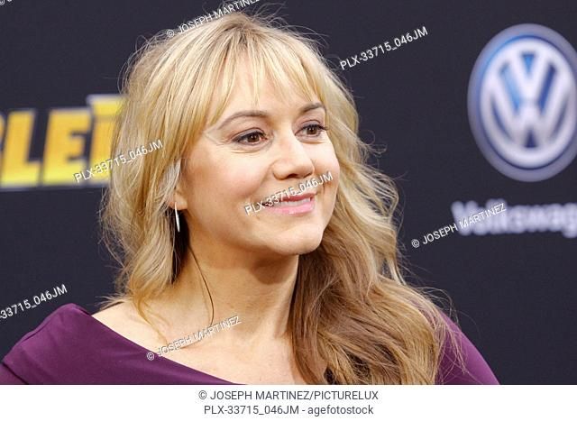 """Megyn Price at the Premiere of Paramount Pictures' """"""""Bumblebee"""""""" held at the TCL Chinese Theatre in Hollywood, CA, December 9, 2018"""