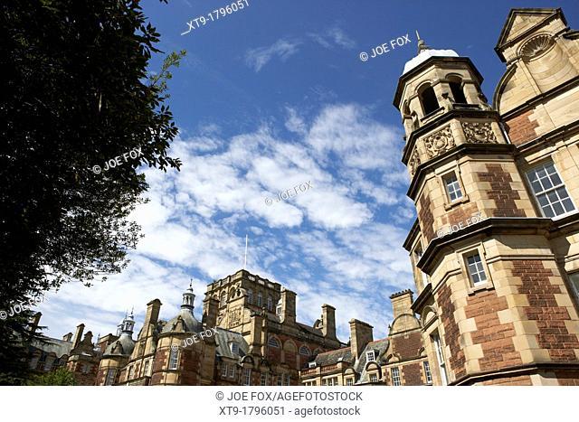 new craig building of the craighouse campus of edinburgh napier university, scotland, uk, united kingdom