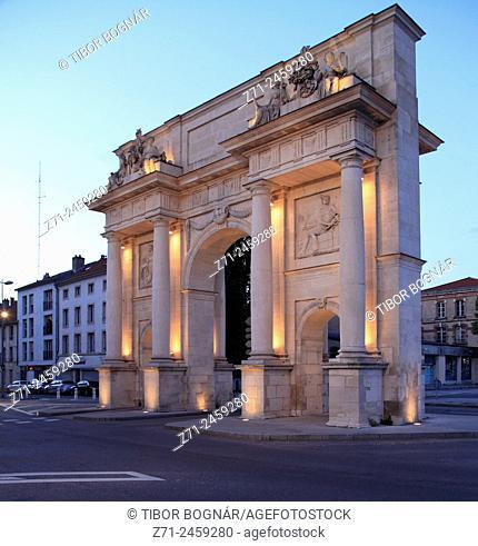 France, Lorraine, Nancy, Porte Sainte-Catherine