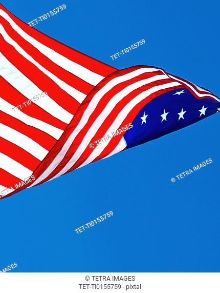 15 star US flag